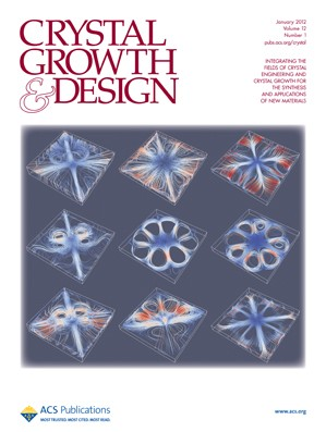 Crystal Growth & Design: Volume 12, Issue 1