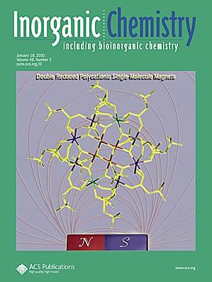 Inorganic Chemistry: Volume 49, Issue 2