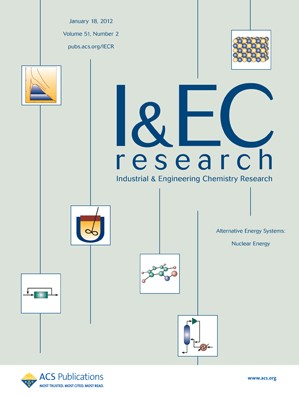 Industrial & Engineering Chemistry Research: Volume 51, Issue 2
