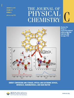 Journal of Physical Chemistry C: Volume 119, Issue 3