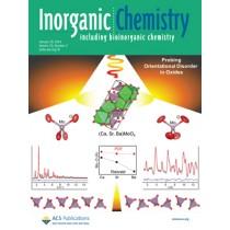 Inorganic Chemistry: Volume 53, Issue 2