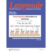 Langmuir: Volume 30, Issue 51