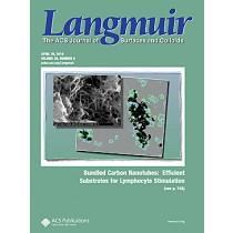 Langmuir: Volume 26, Issue 8