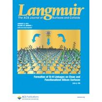 Langmuir: Volume 29, Issue 1