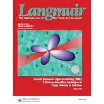 Langmuir: Volume 30, Issue 10
