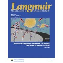 Langmuir: Volume 30, Issue 12